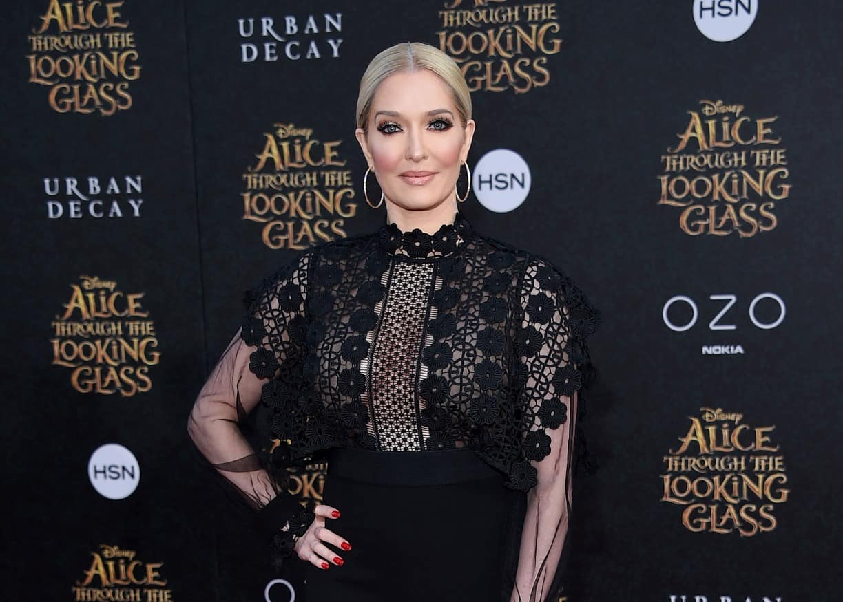 RHOBH's Erika Jayne Claps Back at Fan Expreses Concern for Her Police Officer Son in a Comment Under a Series of Racy Savage X Fenty Lingerie Photos