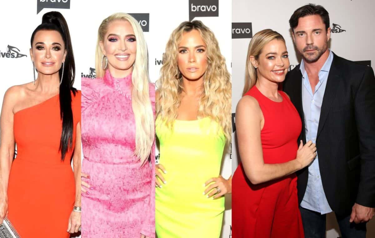 "RHOBH Cast Call Out Aaron Phypers For Seemingly Threatening to ""Crush"" Denise's Hand on Latest Episode as Erika and Teddi React to His ""A**hole"" Antics, Plus Kyle Responds to Criticism"