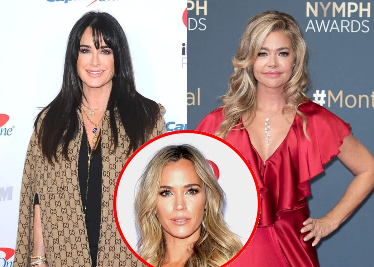 "Kyle Richards Accuses Denise Richards of Trying to Make RHOBH Co-Stars ""Look Bad"" as Teddi Claims Denise is ""So Hypocritical"" for Mom-Shaming Cast and Erika Wonders Why Denise Acted Offended by Conversation"