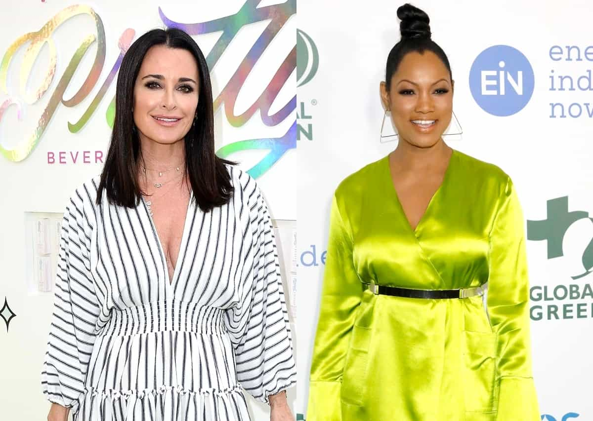 "RHOBH's Kyle Richards Accuses Garcelle Beauvais of Using Her for a Storyline and Says She Had ""No Idea"" Garcelle Was Talking About Her Behind Her Back"