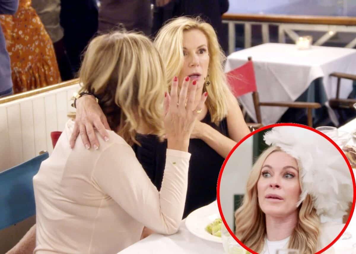 RHONY Recap: Leah Throws Food At Ramona and Dorinda Mourns Breakup With John!