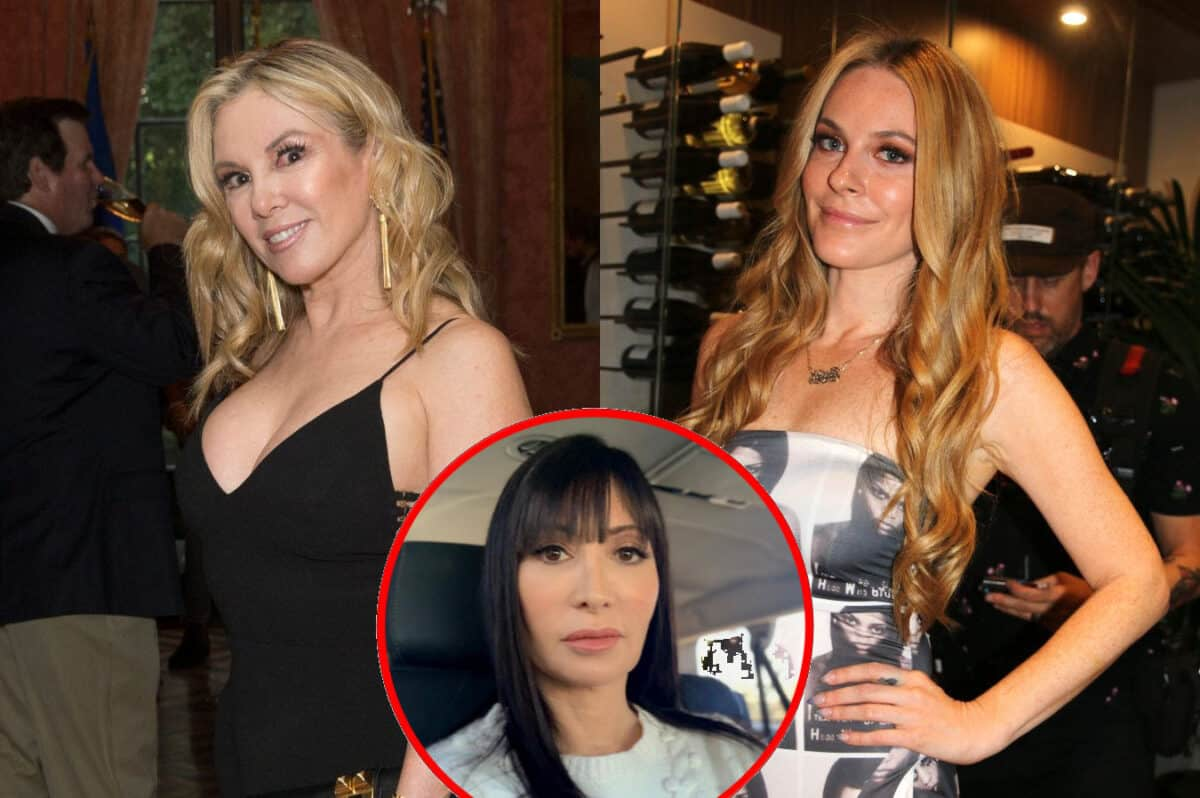 """Ramona Singer Talks Being """"Disappointed"""" in Leah McSweeney and Why She Wants Her to """"Be Better,"""" Reveals Reason Elyse Slaine Isn't Good For RHONY"""