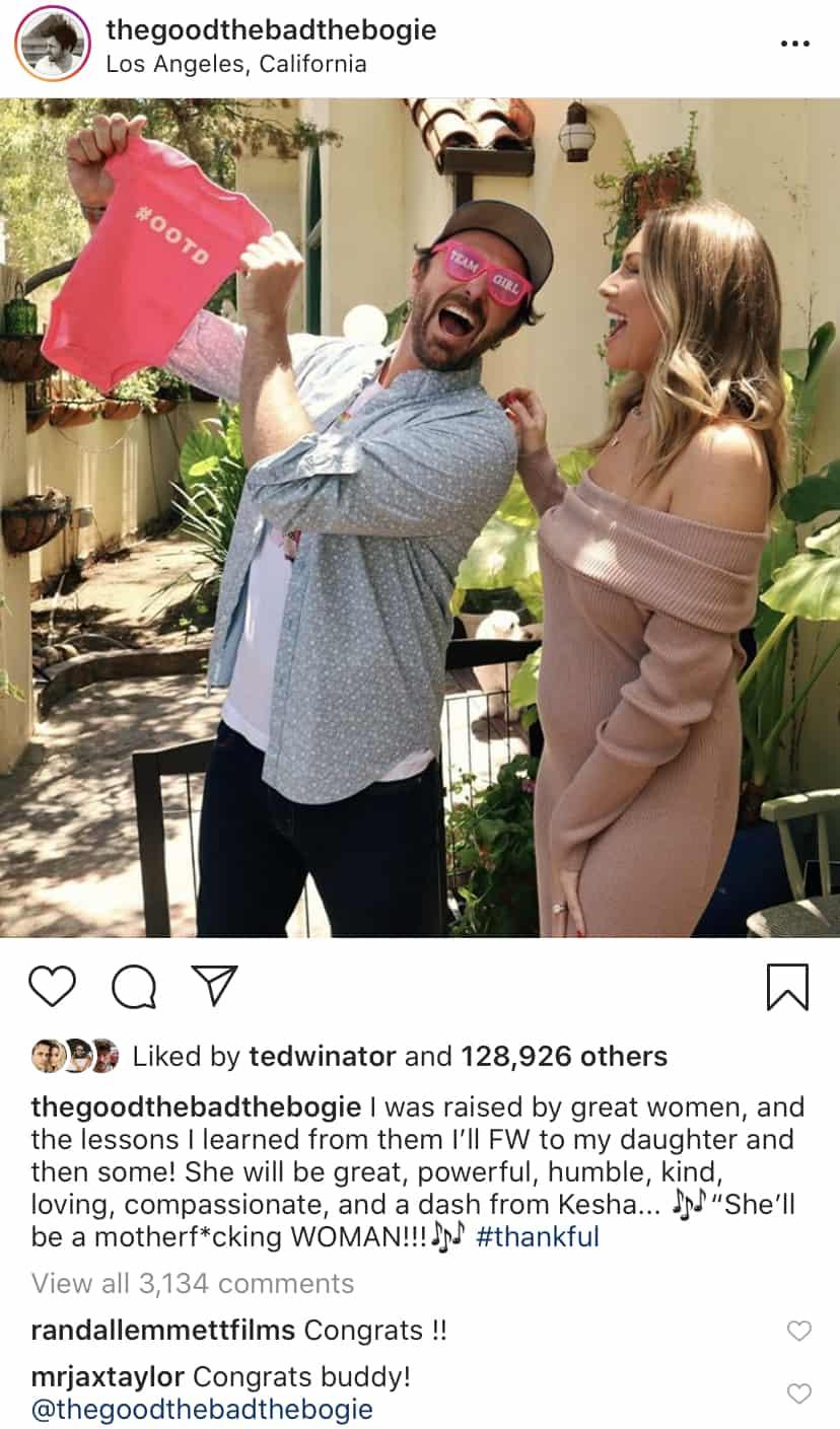 Vanderpump Rules Randall Emmett Reacts to Stassi Schroeder's Baby Girl News