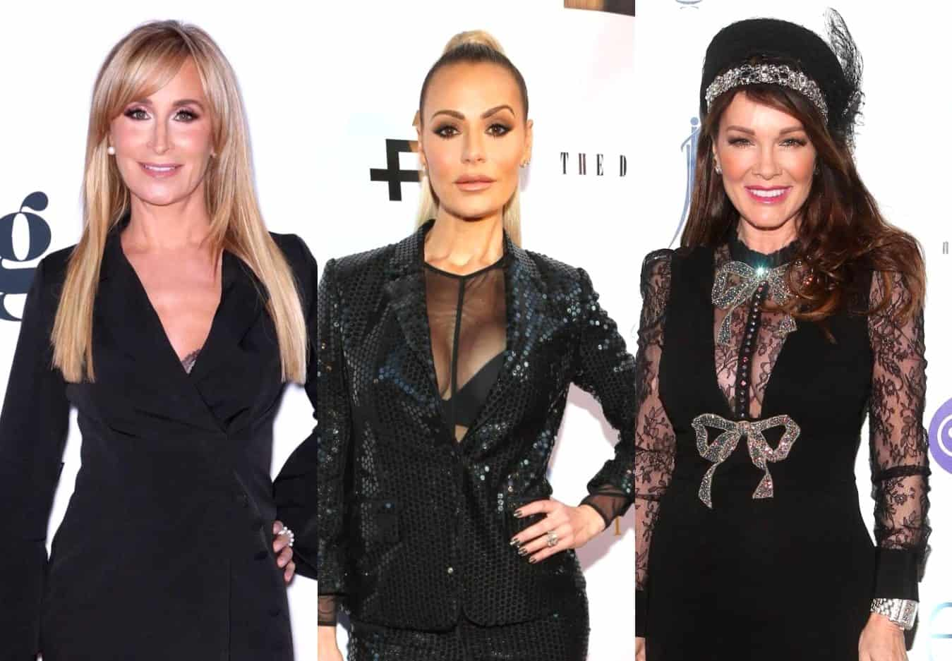 RHONY's Sonja Morgan Shades Dorit Kemsley for Claiming She's Following in Lisa Vanderpump's Footsteps, Wonders Who She Even is as She Requests LVP Fill Her In