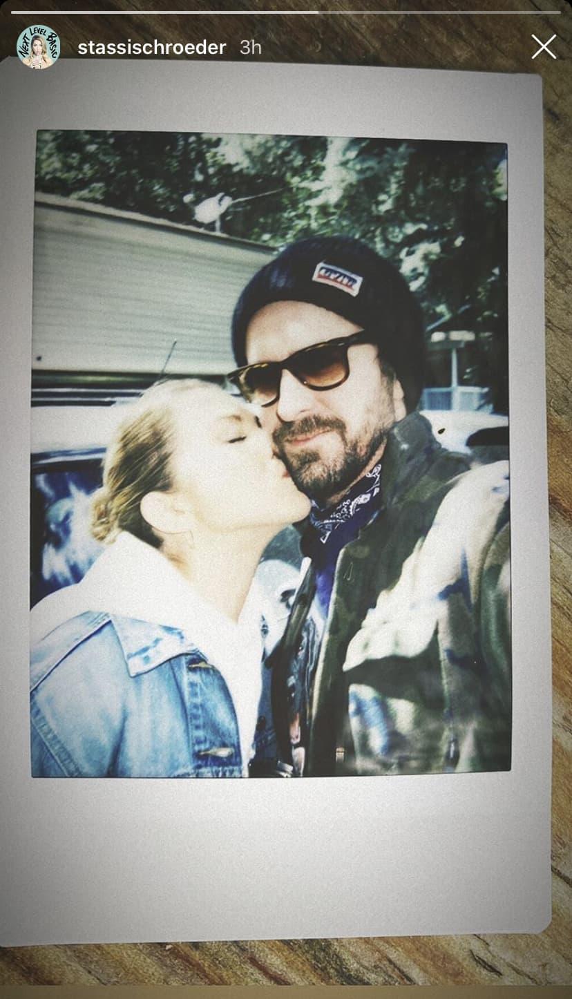 Stassi Schroeder Kisses Beau Clark in First Instagram Photo After Vanderpump Rules Firing