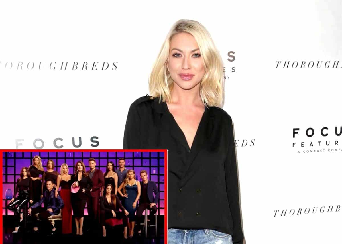 Find Out Where Stassi Schroeder Stands With Her Former Vanderpump Rules Co-Stars After Her Firing and Learn Which Cast Members Have Not Yet Congratulated Her and Beau Clark Publicly on Their Baby News