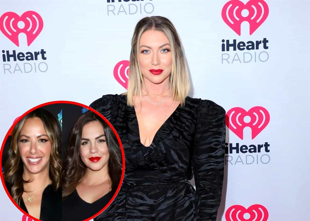 "Stassi Schroeder's Podcast and Witches of WeHo Wine Dropped Amid Racism Scandal, Plus How the Pump Rules Alum Awkwardly Begged Bravo to ""Never Fire"" Her Months Ago"
