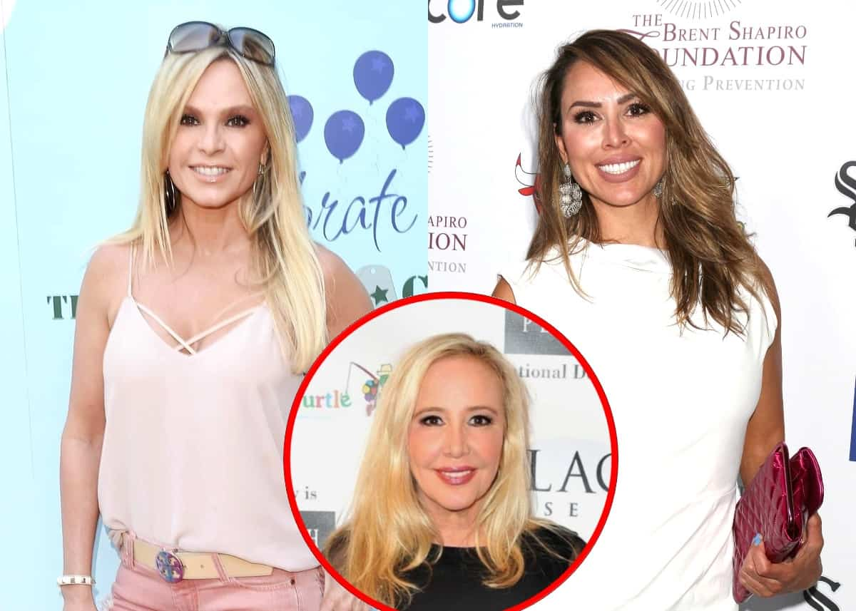 "Tamra Judge Says Kelly Dodd Should Be Fired From RHOC Over Alleged Racist Comments and Seemingly Slams Shannon Beador as Her ""Least Professional"" Co-Star"