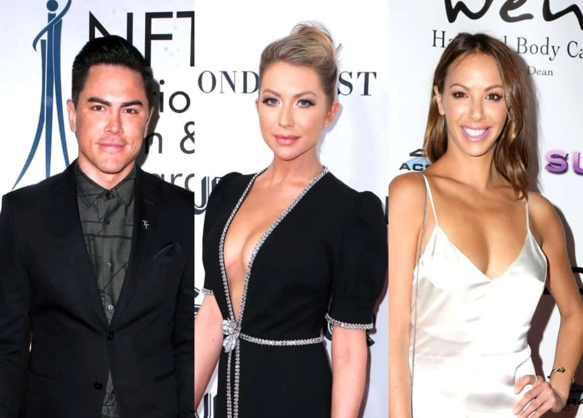 "Tom Sandoval Reacts to the ""Crazy"" Firings of Stassi Schroeder and Kristen Doute From Vanderpump Rules, Says He's Waiting to ""See What Happens"" After Traveling Home to St. Louis to Help Local Businesses"