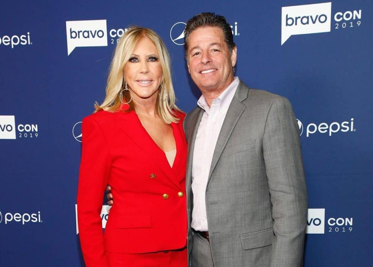 "Vicki Gunvalson Calls Fiancé Steve Lodge ""Boring"" and ""Not Very Good for TV,"" Does She Blame Him for Getting Fired From RHOC? Plus She Claims She Was Never a Housewife for the Fame"