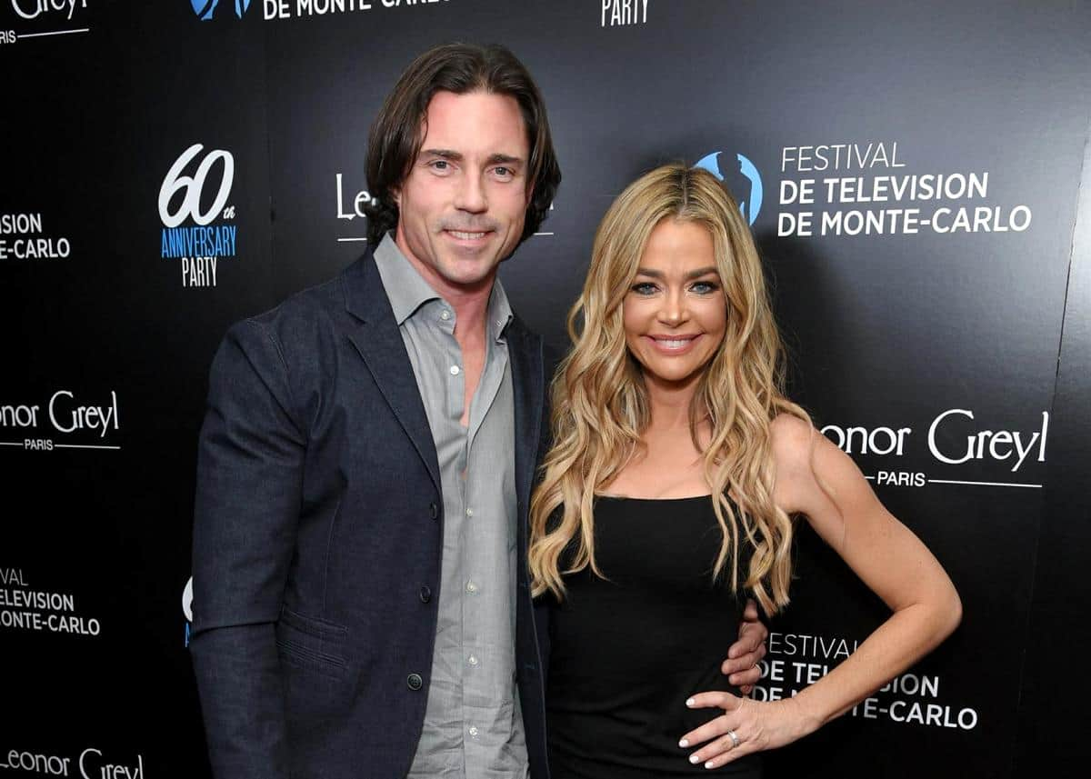 "RHOBH's Denise Richards and Aaron Phypers Are ""Better Than Ever"" and ""Unbothered"" by Her Upcoming Affair Drama With Brandi Glanville Because They Know Their Marriage is ""Solid"""