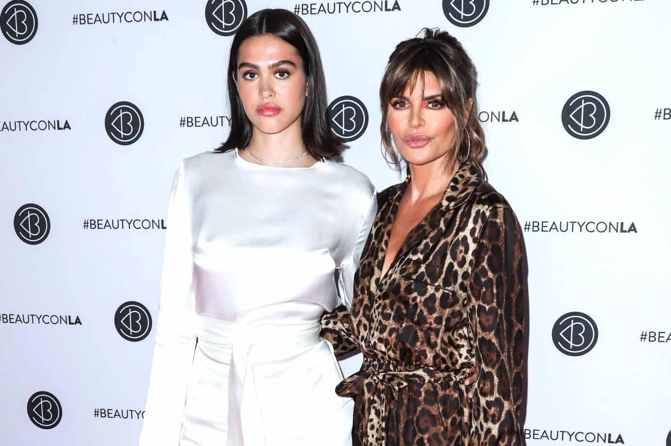 Lisa Rinna Blasted By Troll For Complimenting Daughter Amelia's Lingerie Photos as RHOBH Star Fires Back and Defends Her