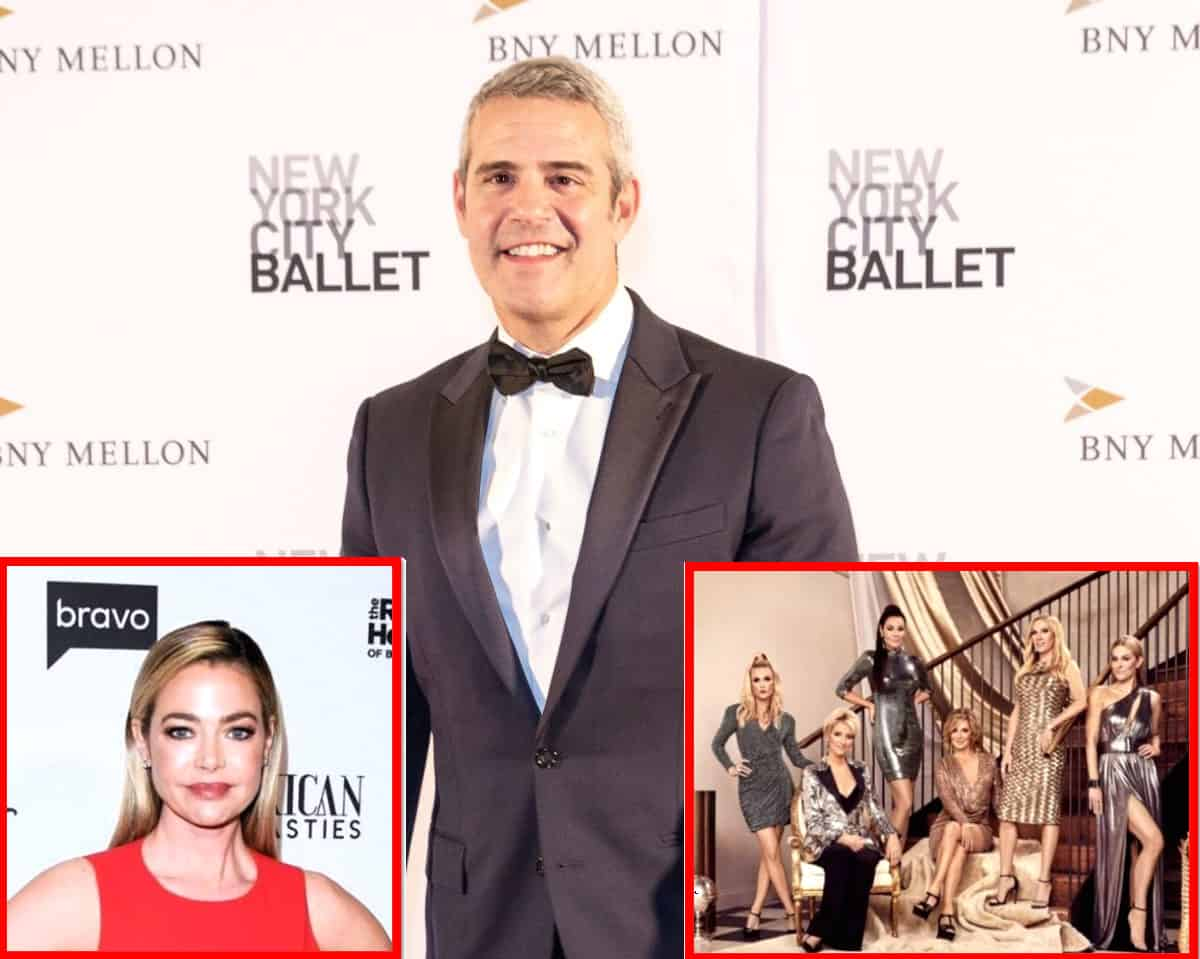 Andy Cohen Addresses Denise Richards' Future on RHOBH Season 11, Discusses the RHONY Cast's Excessive Drinking, Plus Confirms RHOA and RHOD Are in Production as the RHOC Cast is Rocked by COVID-19
