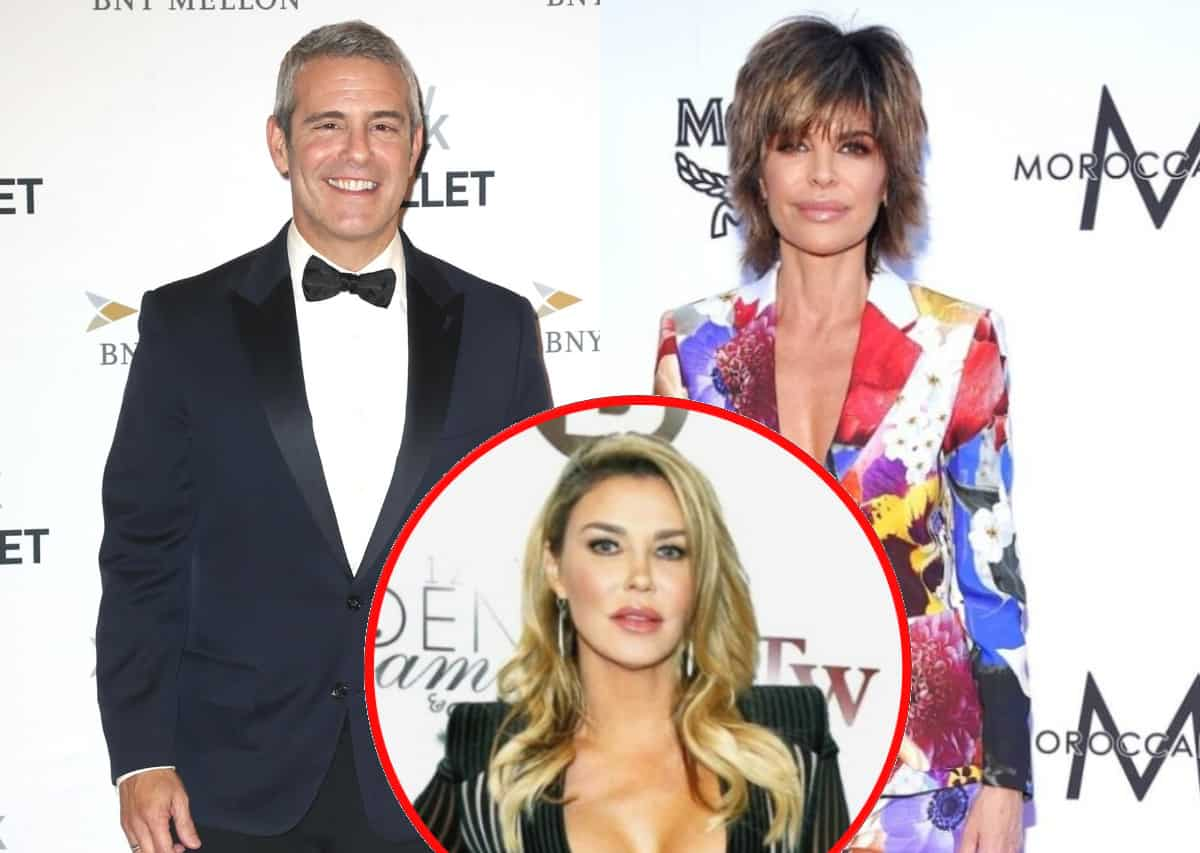 "Andy Cohen Reveals Lisa Rinna Was ""Really Upset"" at RHOBH Reunion Due to Brandi Glanville's Absence, Reacts to Her Calling it ""Bulls**t"" and Addresses Possible Brandi Interview, Admits to Being ""Annoyed"" During Taping"