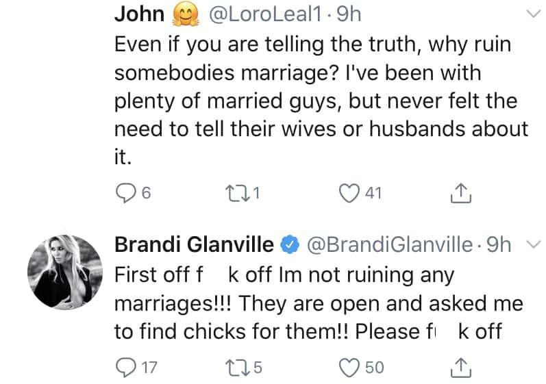 RHOBH Brandi Glanville Claims Denise Richards Has Open Marriage