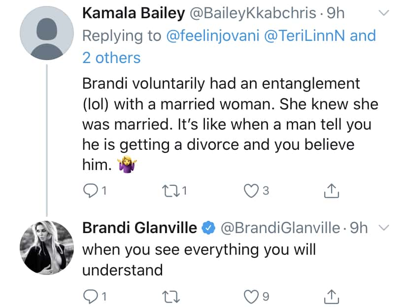 RHOBH Brandi Glanville Says There's More Denise Richards Hookup Drama to Come