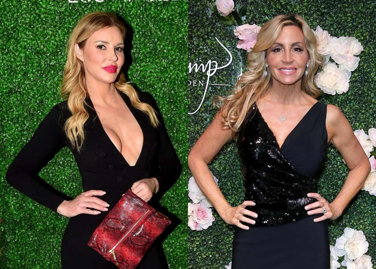 "RHOBH's Brandi Glanville Says She ""Could Do Without"" Camille Grammer on the Show, Claims She Doesn't Know If She's Coming or Going, and Accuses Her of ""Swinging at Everyone"""