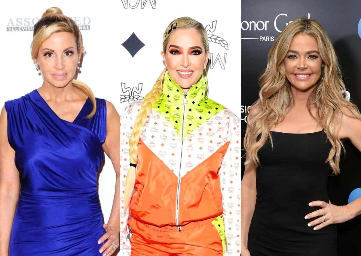 "Camille Grammer Believes Erika Jayne's Comment About Denise's Daughters Was 'Gross and So Low,' Recalls ""Very Hurtful"" Treatment by RHOBH Cast"