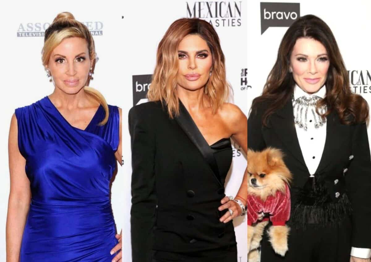 """RHOBH's Camille Grammer Slams 'Sociopath' Lisa Rinna for Not Always 'Owning it,' Calls Her """"Hypocrite"""" and Mentions Her Insensitive Pill-Topped Cupcake Tweet to Lisa Vanderpump, Reveals if She is Currently in Contact With LVP"""