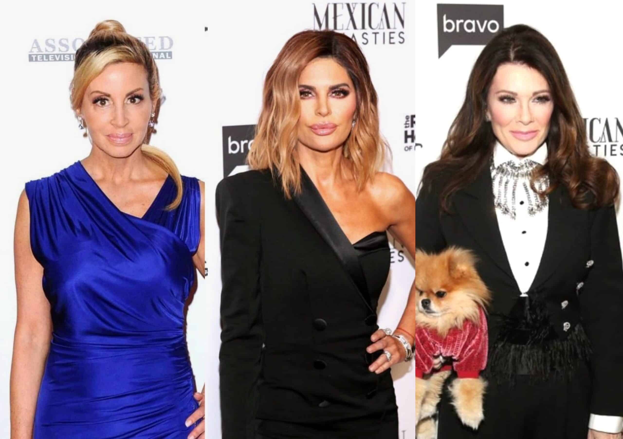 "RHOBH's Camille Grammer Slams 'Sociopath' Lisa Rinna for Not Always 'Owning it,' Calls Her ""Hypocrite"" and Mentions Her Insensitive Pill-Topped Cupcake Tweet to Lisa Vanderpump, Reveals if She is Currently in Contact With LVP"