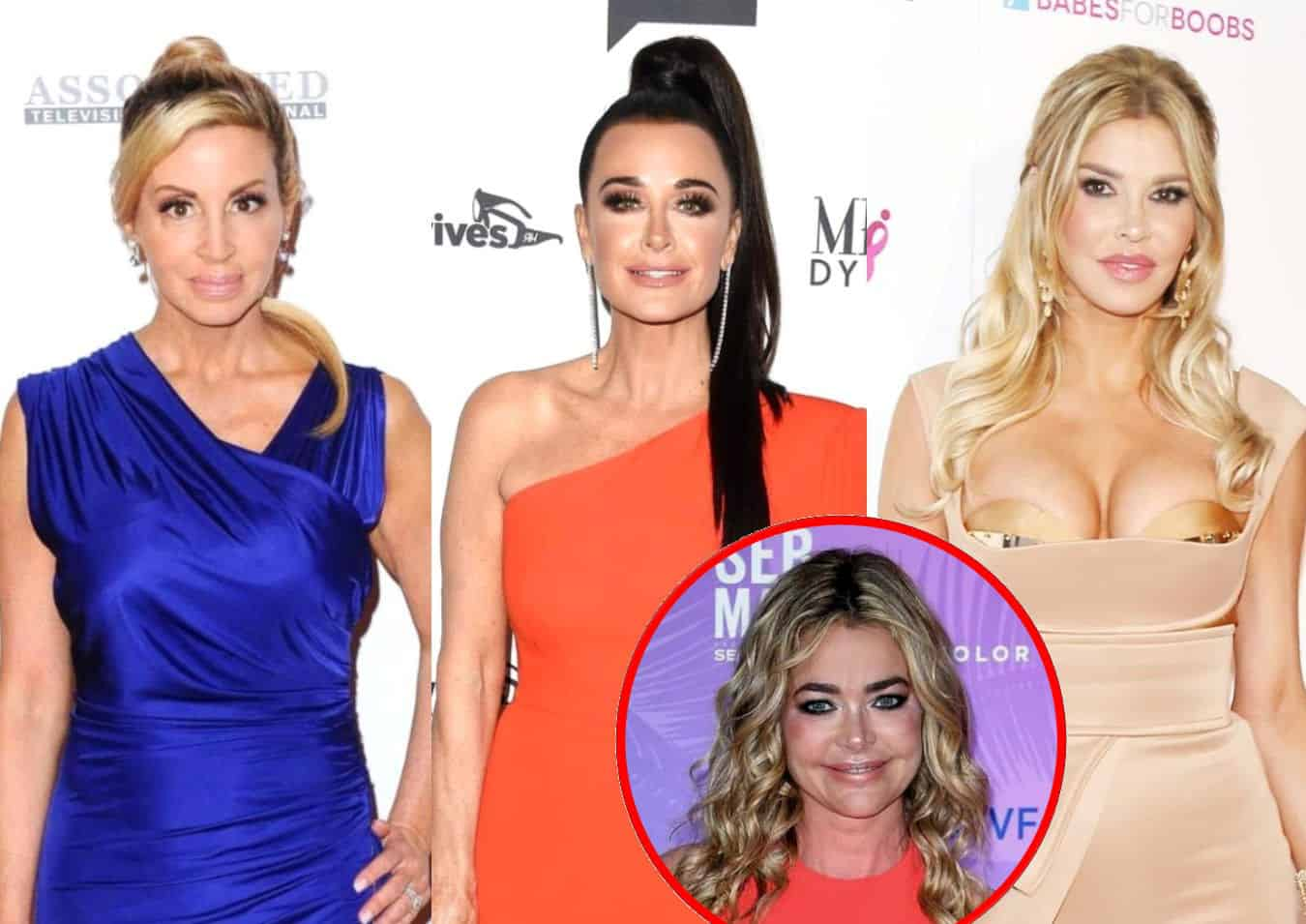 "RHOBH's Camille Grammer Suspects Brandi and Kyle ""Rehearsed"" Scene About Denise, Accuses Brandi of Twisting the Truth and Claims She's the ""True Predator"""
