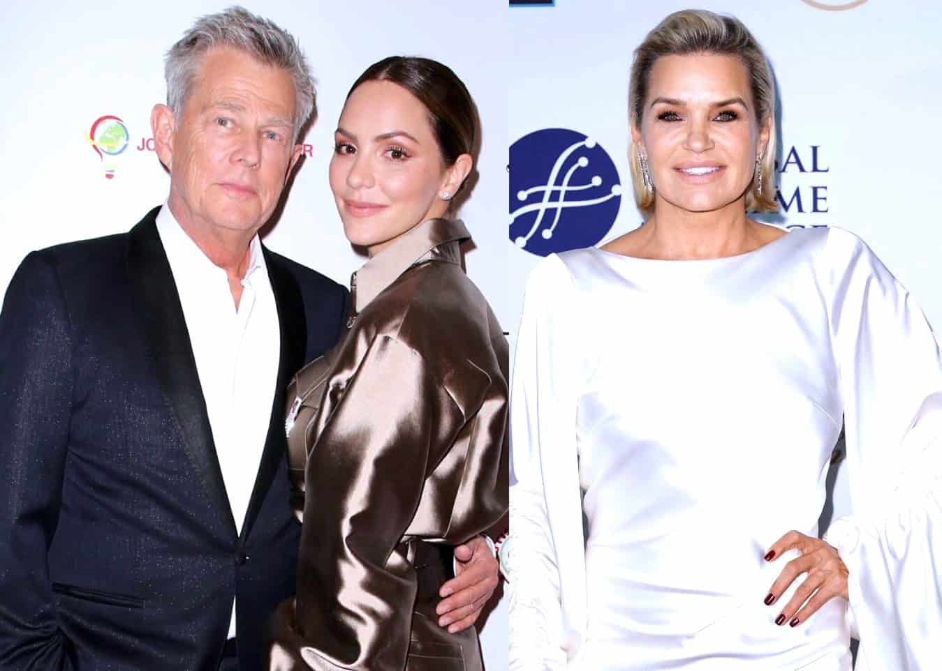 "David Foster Explains Why Appearing on RHOBH Was ""Annoying"" and Addresses Rumors About Divorce to Yolanda Hadid, Plus He Gushes Over ""Magical"" Wife Katharine McPhee"