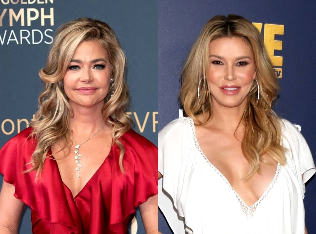 "More Text Messages From Denise Richards and Brandi Leak Showing Brandi Accusing Denise of Making Her Out to Be a ""Cheater and a Liar"" as Denise Accuses RHOBH Cast Mates of Using Them as ""Scapegoats,"" Plus Brandi Claims She Didn't Leak Texts"