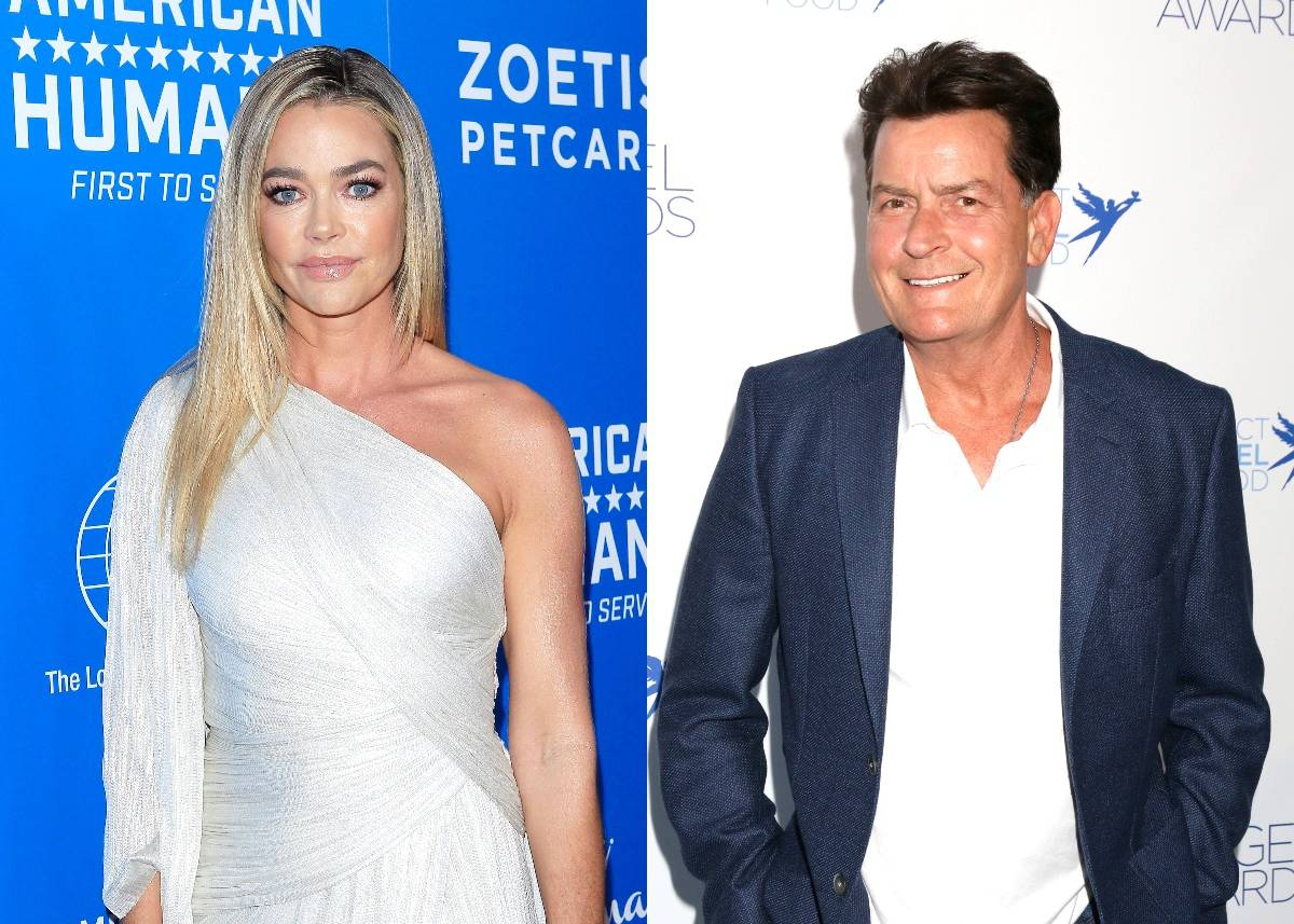 REPORT: RHOBH Star Denise Richards and Ex Charlie Sheen Are Heading Back to Court as He Attempts to Have His Child Support Payments Lowered Amid Claims of Owing $450,000 in Back Support