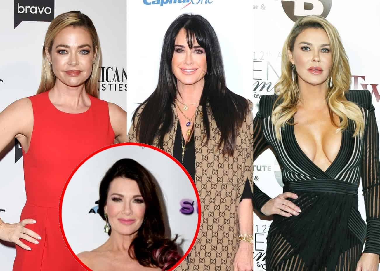 Denise Richards Reacts to the Cease and Desist Drama Between Kyle Richards and Brandi Glanville, Admits She Made a Mistake When Turned on Lisa Vanderpump Last Season