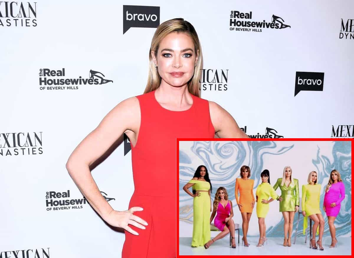 "Is Denise Richards Planning a ""Blistering"" Tell-All About RHOBH Cast and Brandi Glanville?"