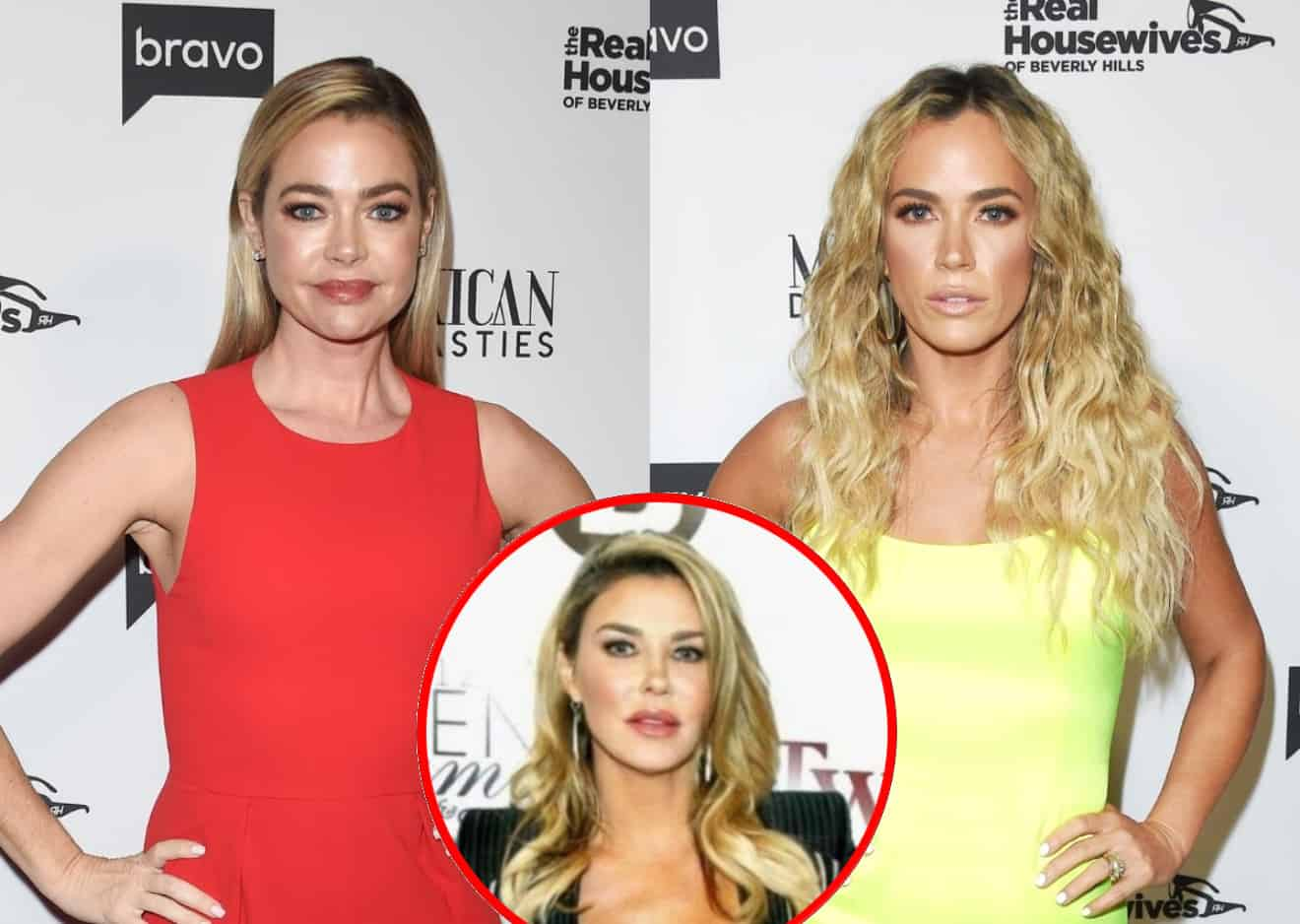"Denise Richards Implies Shady Editing on RHOBH, Denies Accusation That She Knew Teddi Was Referring to Affair as Brandi Glanville Insists: ""I'm Literally Just Telling the Truth"""