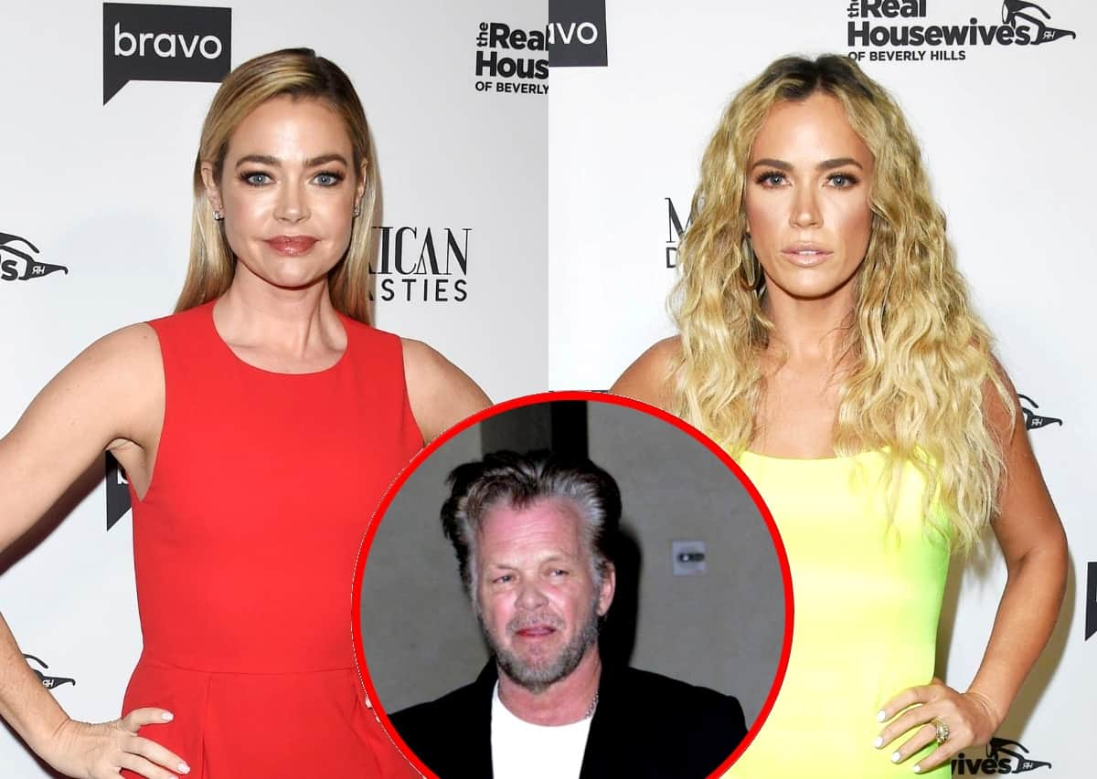 """RHOBH's Denise Richards Claps Back at Teddi and Her Dad John Mellencamp After He Shaded Her by Calling Her """"Dennis"""" and Saying He 'Never Heard of Her,' Slams Teddi for """"Stooping"""" Low and Spreading """"Salacious Untrue Rumor"""" About Her Marriage"""
