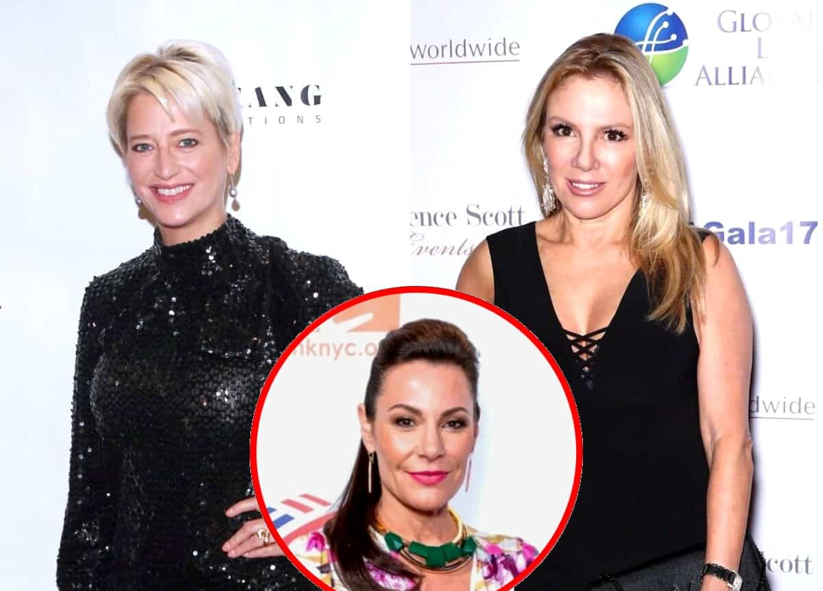"""Dorinda Medley Slams Ramona Singer For 'Betraying' Luann and Being """"Terrible"""" to All Her RHONY Co-Stars, Accuses Her of Using She and Sonja For Free Party as Ramona Slams Halloween Bash"""
