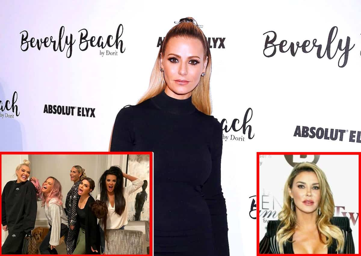 "Dorit Kemsley Explains the RHOBH ""Fox Force Five"" Group, Recalls a Drunken Encounter With Brandi Glanville and Addresses Her Claims About Denise"