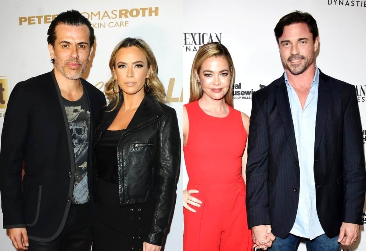 """RHOBH's Teddi Mellencamp Says She'd Be """"Mortified"""" If Husband Edwin Acted Like Denise's Husband Aaron, Plus Dorit Explains Why PK Pulled Aaron Aside Amid His Cast Drama and Says It """"Doesn't Look Right"""" When Men Get Involved"""