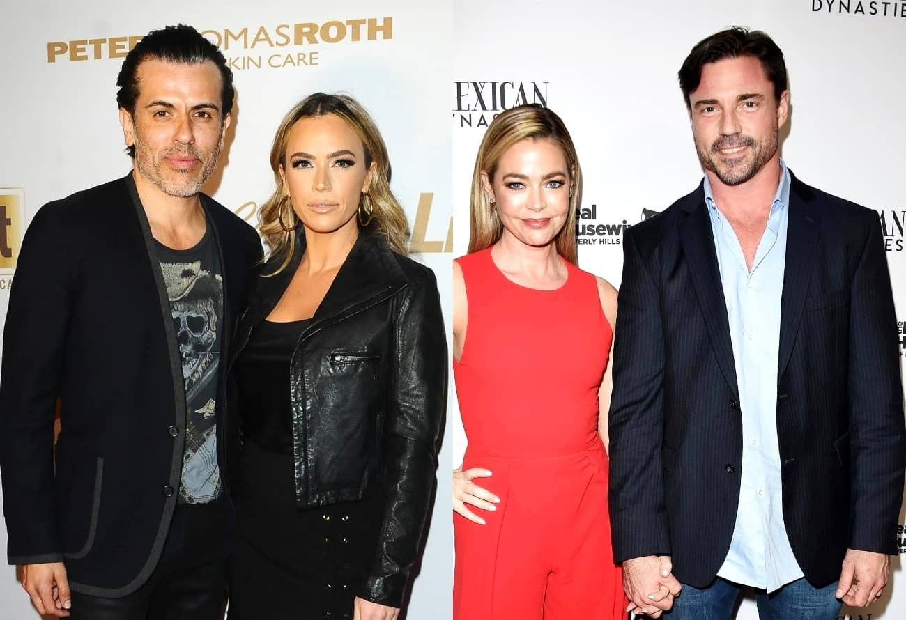 "RHOBH's Teddi Mellencamp Says She'd Be ""Mortified"" If Husband Edwin Acted Like Denise's Husband Aaron, Plus Dorit Explains Why PK Pulled Aaron Aside Amid His Cast Drama and Says It ""Doesn't Look Right"" When Men Get Involved"
