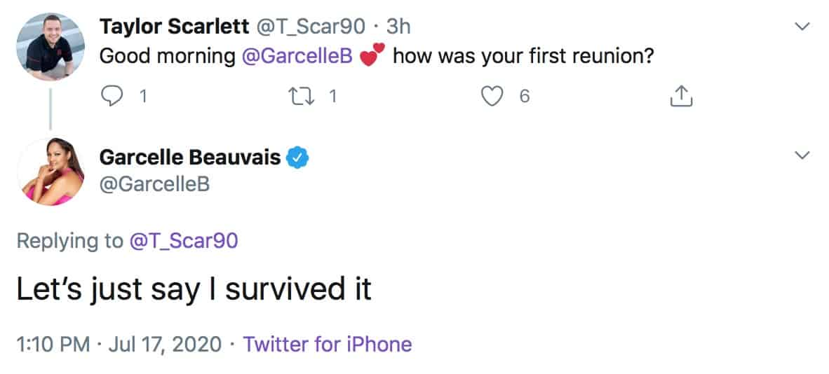 Garcelle Beauvais Says She Survived the RHOBH Reunion