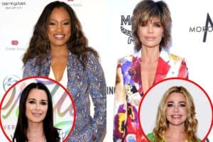 "Garcelle Beauvais Says RHOBH Reunion Was the ""Straw That Broke the Camel's Back"" With Former Friend Lisa Rinna, Plus She Reveals Where She and Kyle Stand and If She Thinks Denise Will Return Next Season"