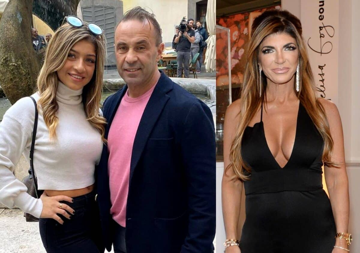 RHONY Star Teresa Giudice and Ex Joe Giudice Show Support For Daughter Gia's New Nose Job as Joe Further Reveals His Initial Hesitation About His Daughter Going Under the Knife