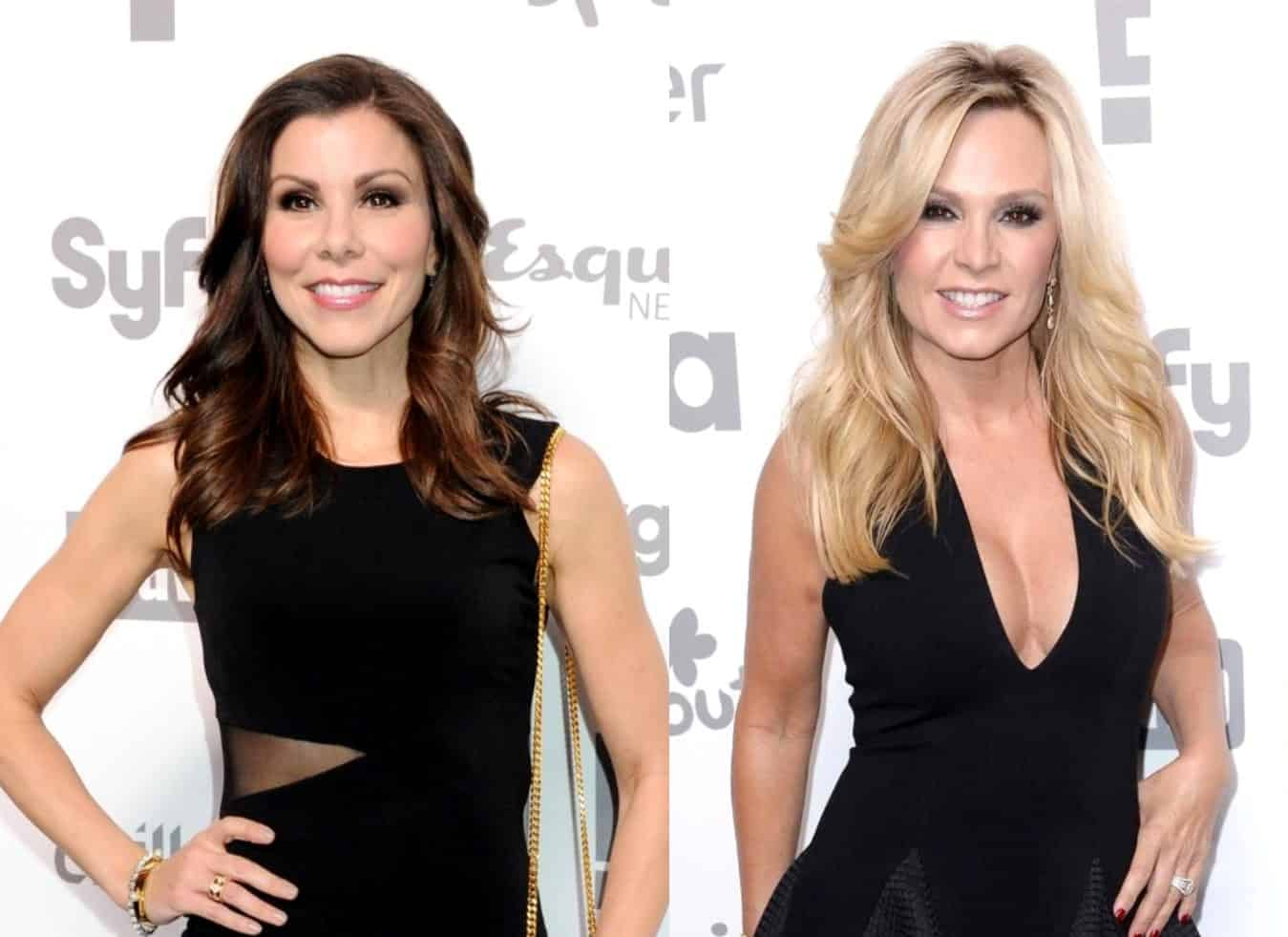 "Heather Dubrow Shades Tamra Judge For Saying She Was Demoted on RHOC, Says ""No One Should Speak For Me Except Me,"" Plus She Discusses Daughter Max Coming Out"