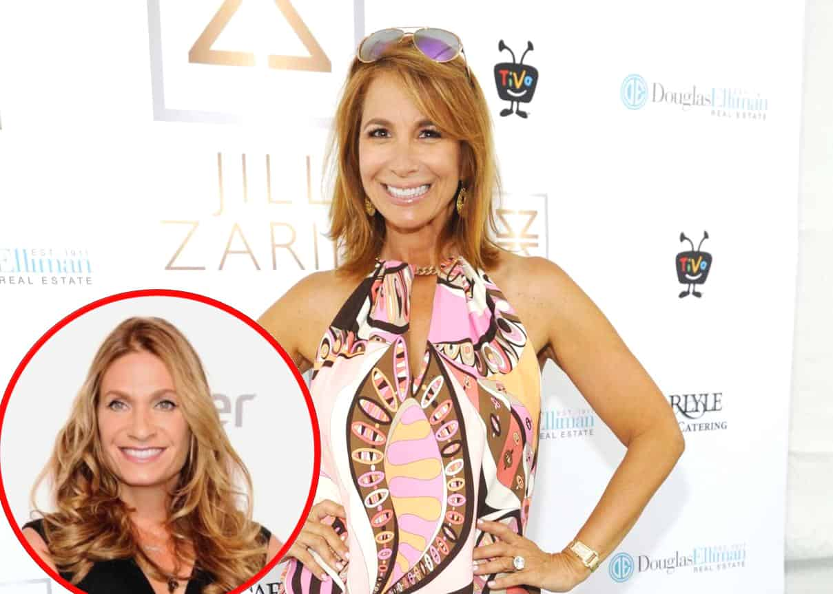 "Jill Zarin Believes RHONY Producers 'Hate' Her, Admits She Was Upset at Being Labeled a 'Friend of Luann' on Show, Plus She Thinks Fans Got ""Short End of the Stick"" With Heather Thomson as Her Replacement"
