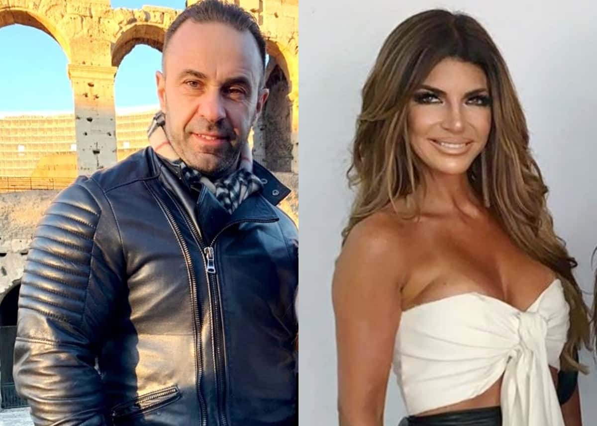 RHONJ's Joe Giudice Shares Update on Where He Stands With Estranged Wife Teresa Giudice, Plus Can He See His Girls Amid the Coronavirus Pandemic?