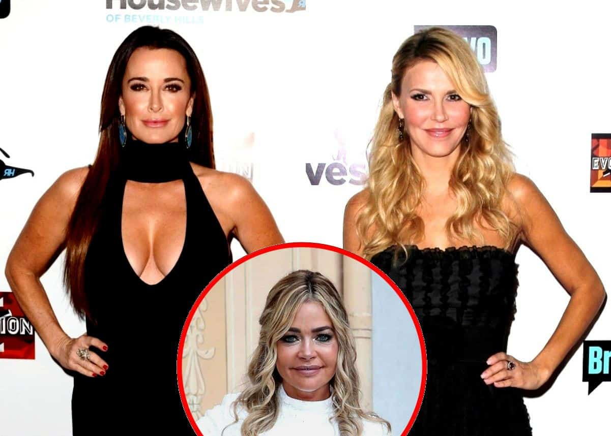 "Kyle Richards Confronted About Accusing Brandi of ""Always"" Spreading Lies in Old Blog as RHOBH Star Also Slammed Brandi as ""Reckless,"" See Kyle's Response as She Insists She Believes Brandi Over Denise"