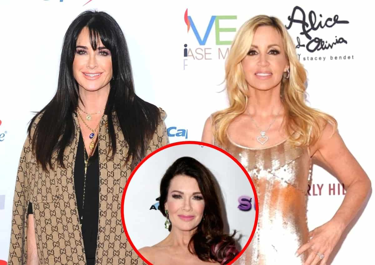 "RHOBH's Kyle Richards Reveals Why She Invited Camille Grammer to Her Charity Event and Accuses Her of Talking About Lisa Vanderpump ""Behind Her Back"" as Dorit Kemsley Explains Why She Can't Trust Her and Teddi Mellencamp Says She's ""Done"""