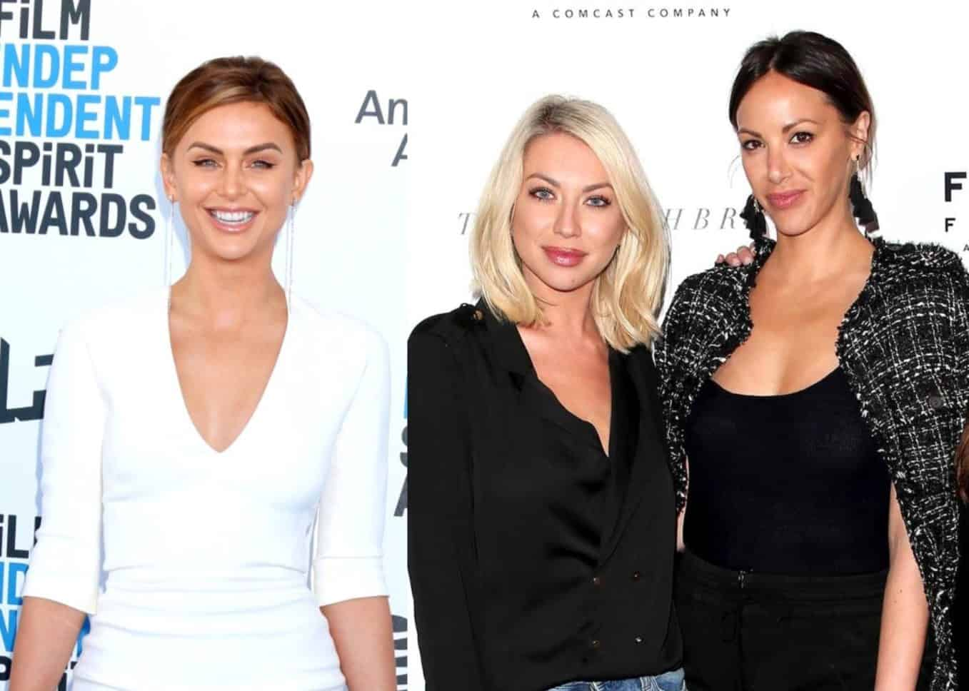 Lala Kent Speaks Out On Firings of Stassi Schroeder and Kristen Doute From Vanderpump Rules For the First Time