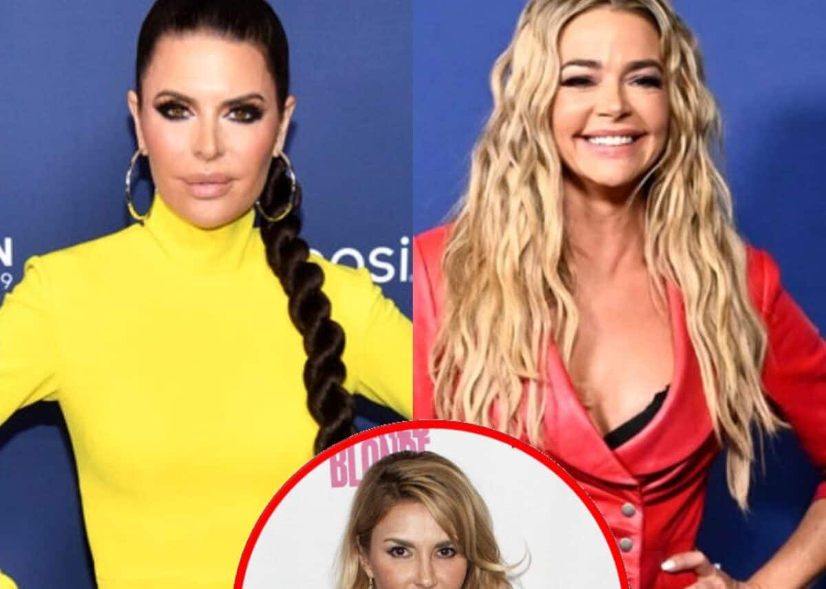 """Lisa Rinna Says the RHOBH Reunion Was """"Bulls**t"""" and Suggests Denise's Cease and Desist Worked, Plus Brandi Calls Out Cast Mates for """"Fake"""" Crying"""