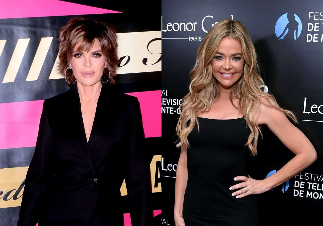 """RHOBH's Lisa Rinna Seemingly Slams Denise Richards for Being a """"Phony"""" Friend While Also Suggesting That She Has Now Received a Letter of Cease and Desist From Her Cast Mate"""