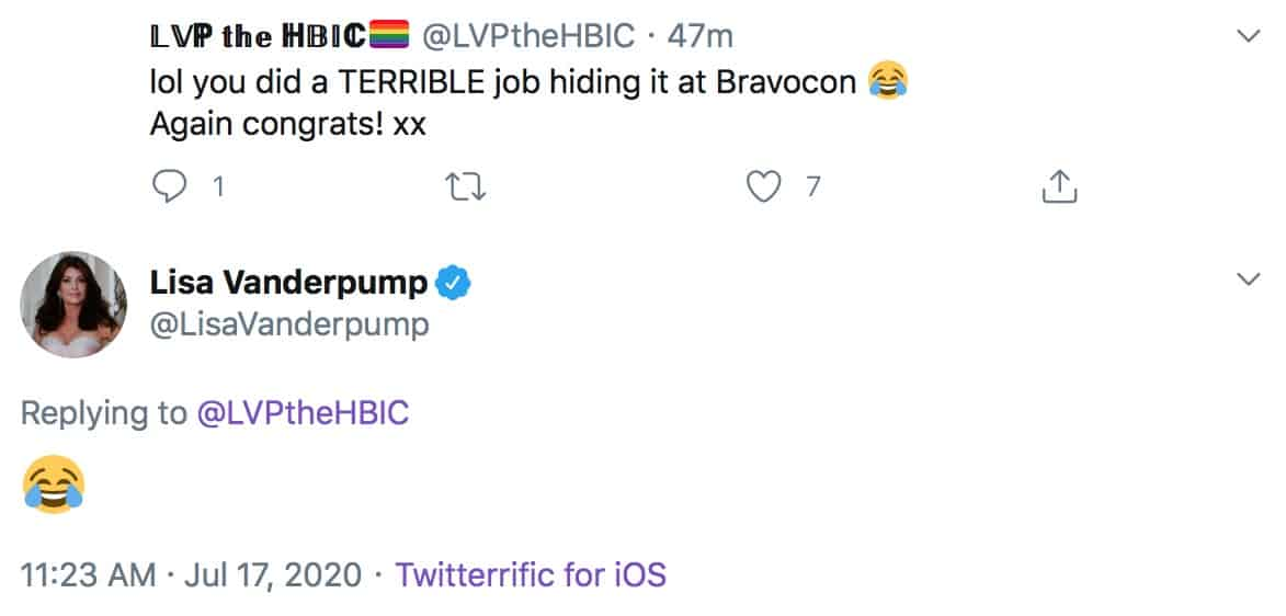 RHOBH Lisa Vanderpump Laughs About Spinoff Tease at BravoCon