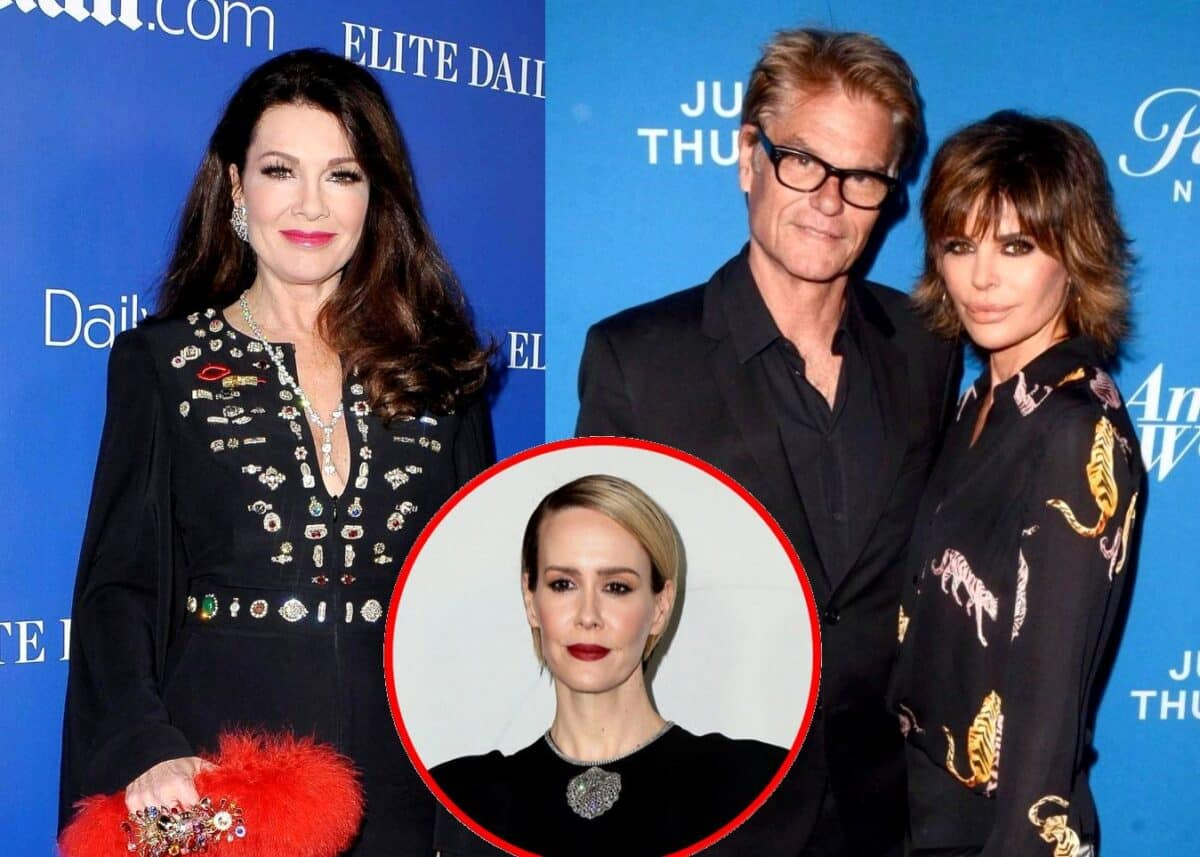 """Lisa Vanderpump Slams Lisa Rinna and Harry Hamlin for """"Disgusting"""" Nazi Halloween Costume as Ex RHOBH Star Suspects Sarah Paulson's Friendship With Rinna is What Prompted Her """"Petty and Unwarranted"""" Attack"""