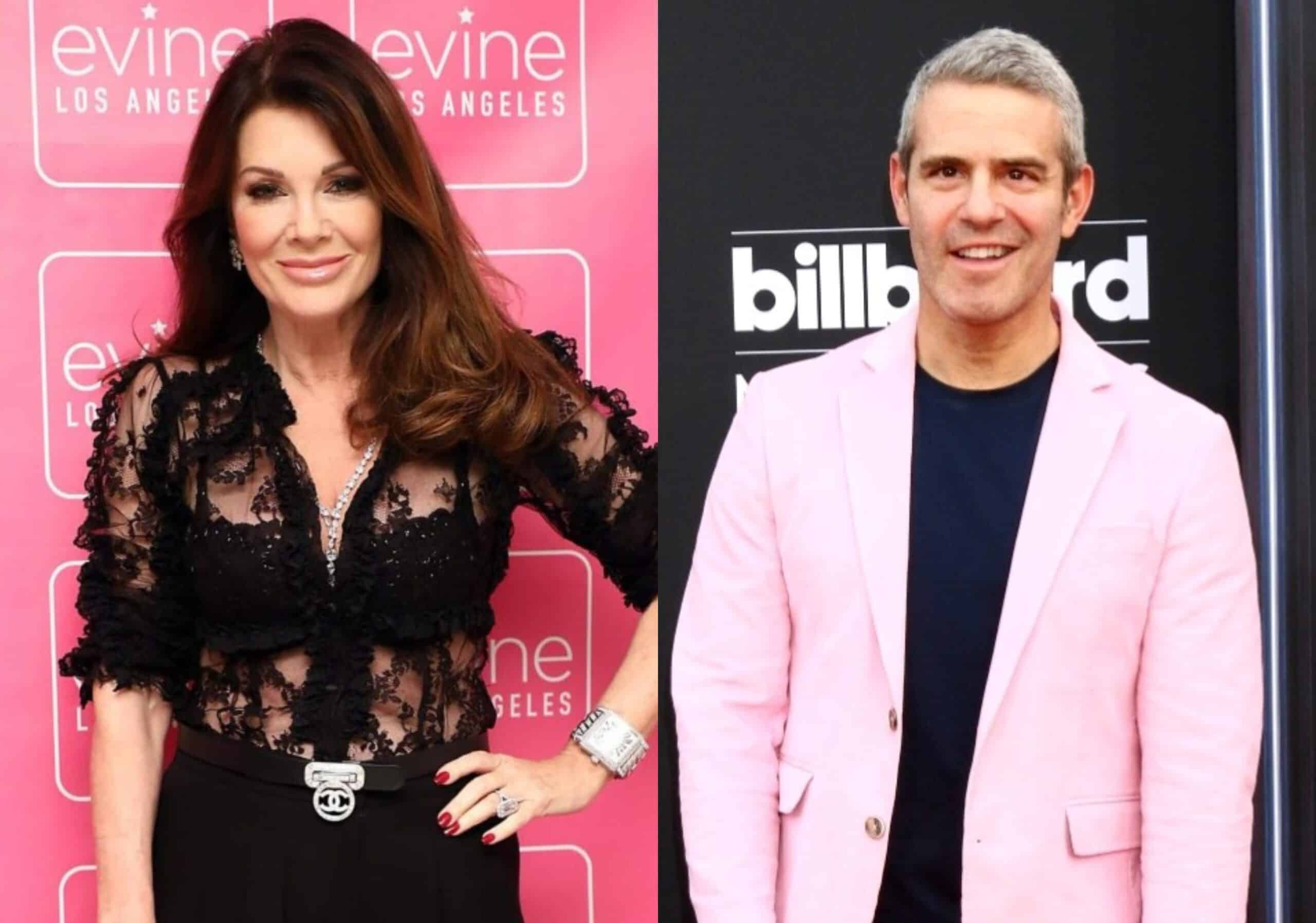"Lisa Vanderpump Suggests Andy Cohen Encourages Guests to ""Throw Shade"" at Her on WWHL, Agrees With Fan Who Questions if He 'Has Issues' With Her, Plus the Ex RHOBH Star Offers Update on Husband Ken's Back Surgery"